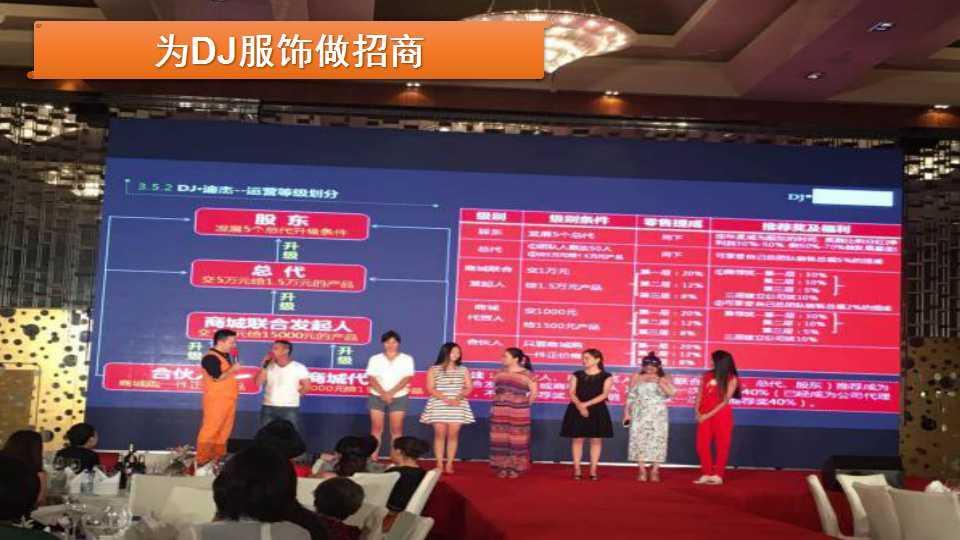 雷竞技电竞平台国际创始人李浩源老师为DJ服饰招商